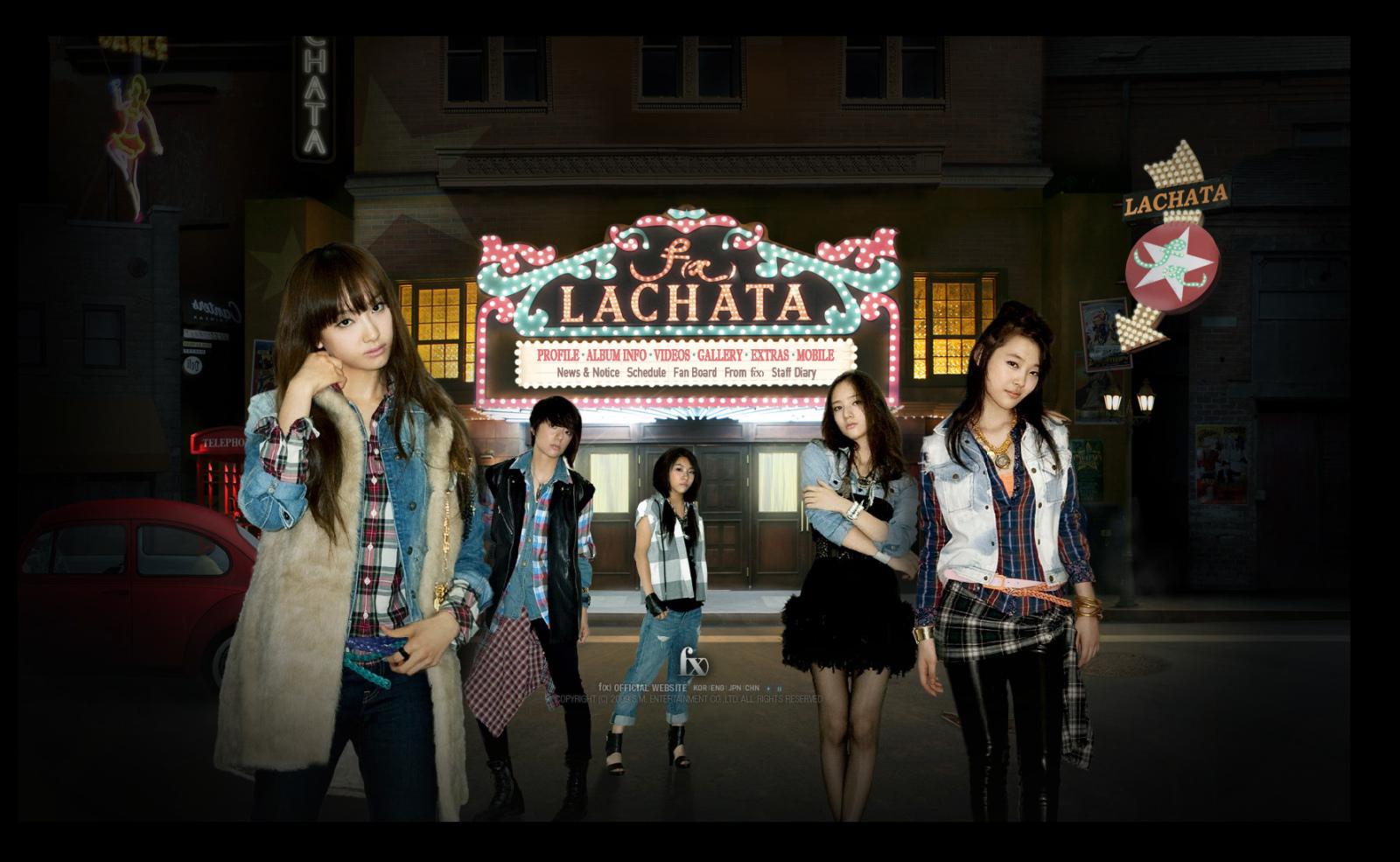 f x lachata hangeul romanized translated lyrics m o o