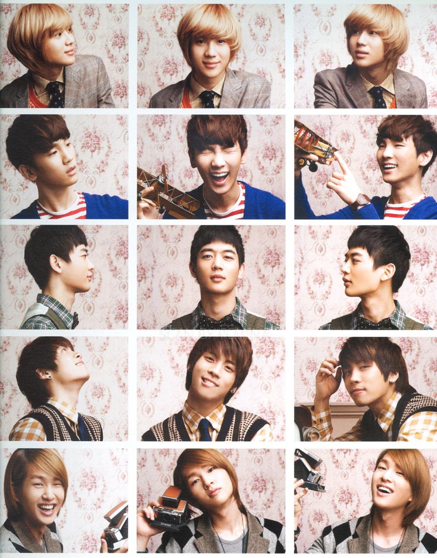 Shinee 2011 Calendar | KOREAN PHOTO BLOG